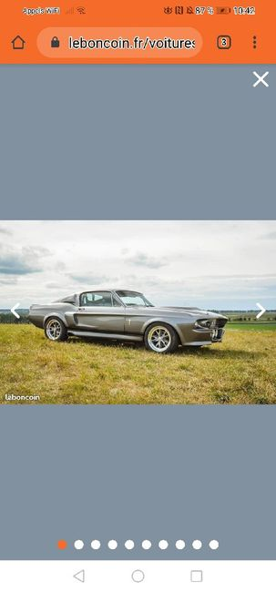 Voiture Ford mustang Eleanor - 1