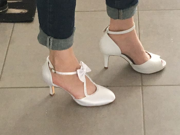 Chaussures blanches - 1