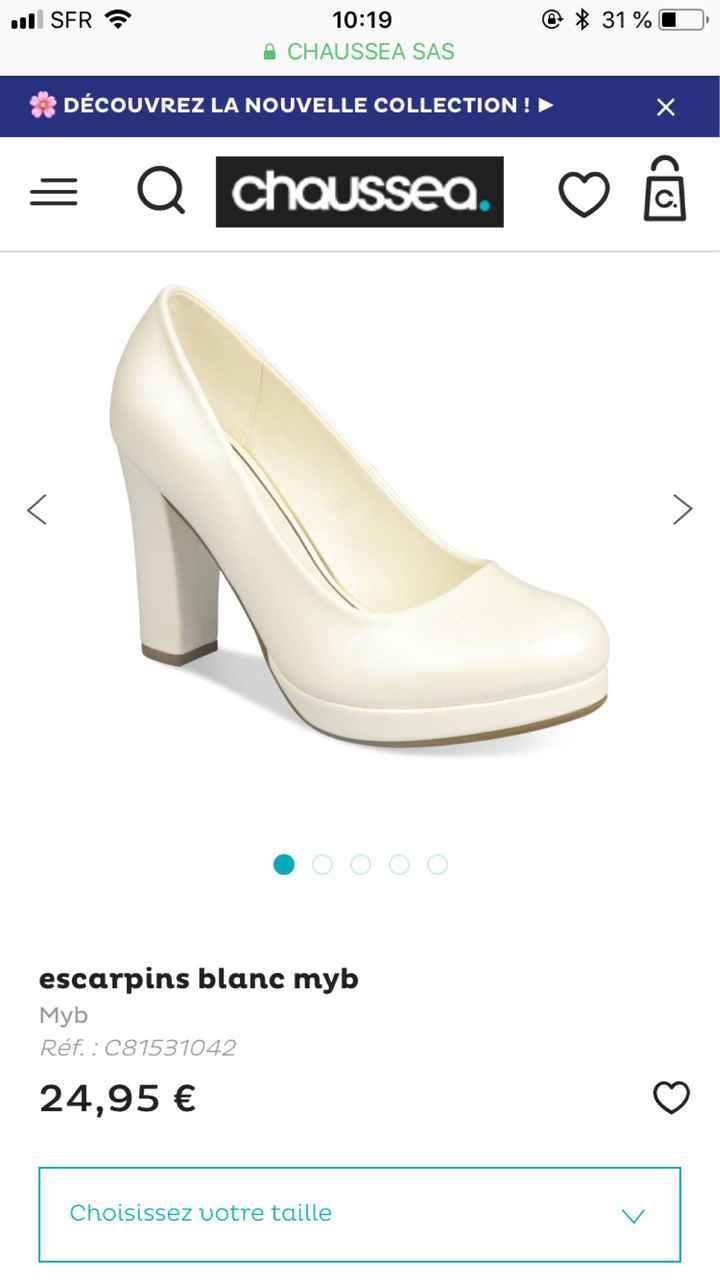 Chaussures à conseiller - 1