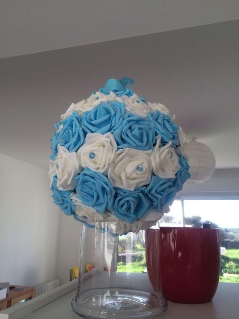 Tutoriel boule de roses ... - 2