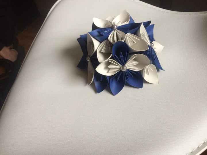 Fleurs origami - 1