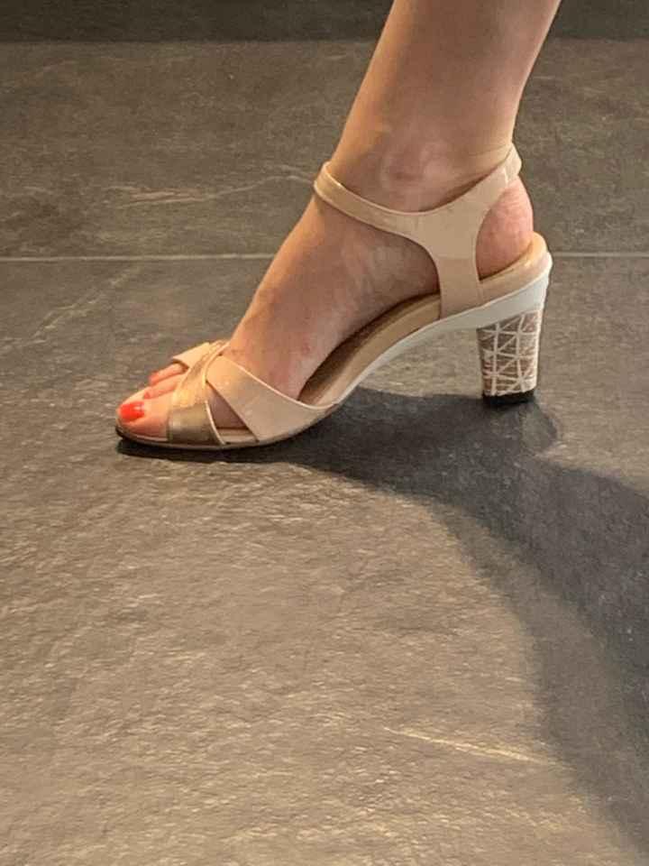 Chaussures trouvées - talons amovibles ! - 1