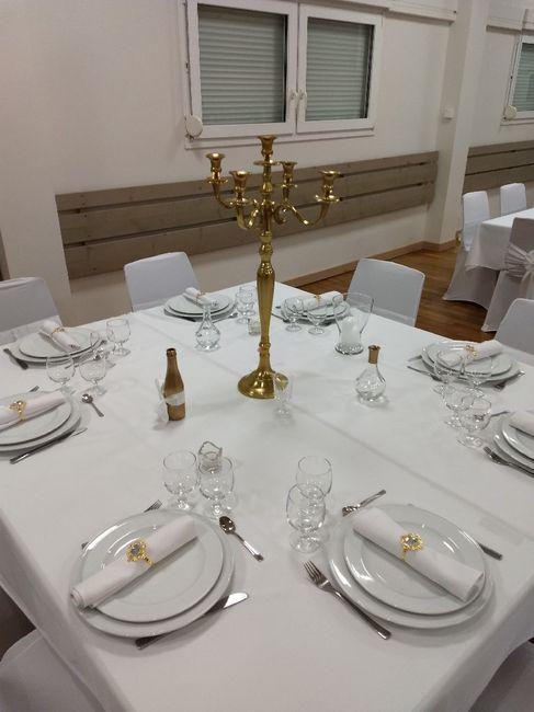 Chandeliers en centre de table 3