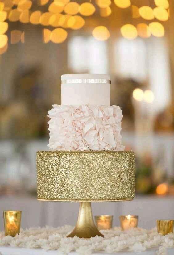 Gâteau doré