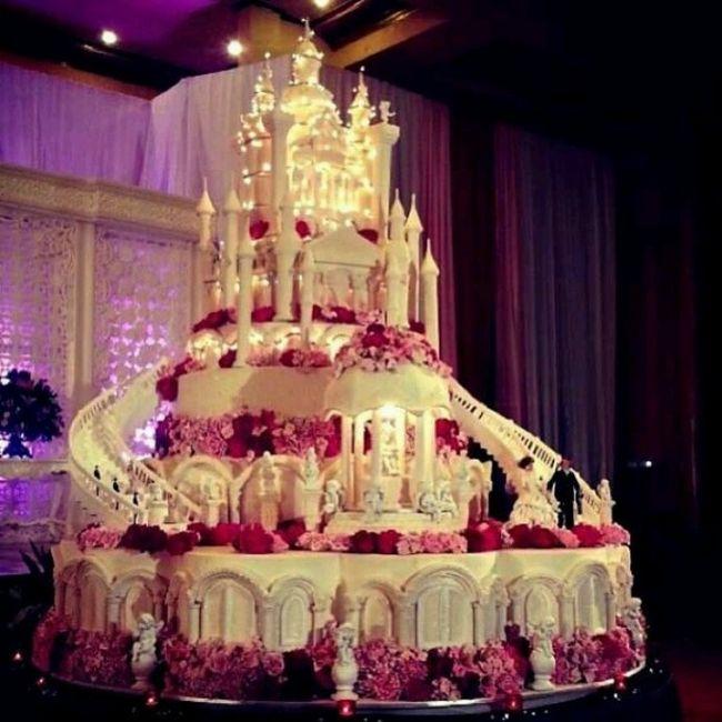 Préférence Enorme gateau de mariage - Banquets - Forum Mariages.net QO31