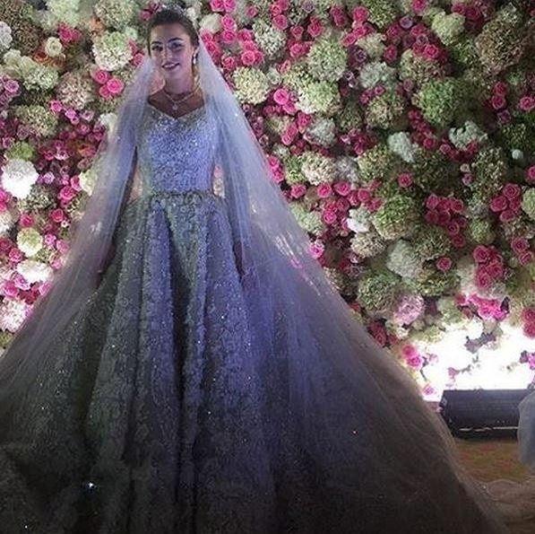 mariage russe à 1 millions de dollars: la mariée