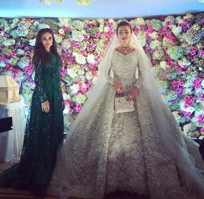 mariage russe à 1 millions de dollars: la marié et sa DH