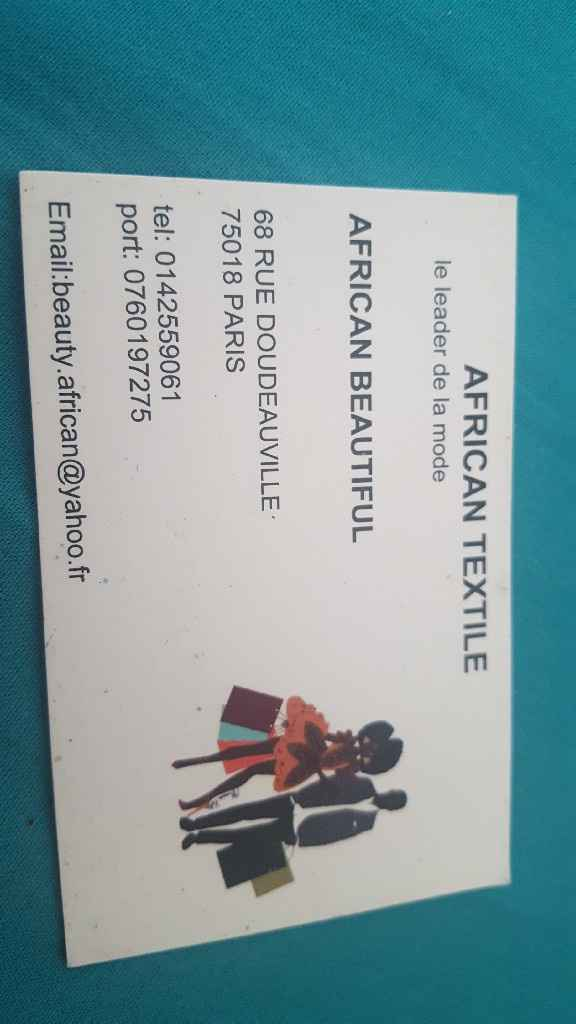 Robe mairie wax :recherche couturier - 1