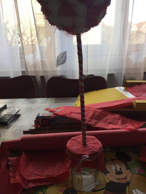 Centre de table (arbre à fleurs) 3