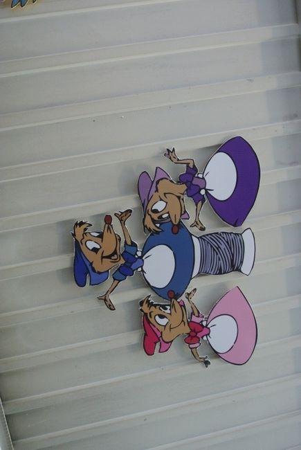 les souris de Cendrillon