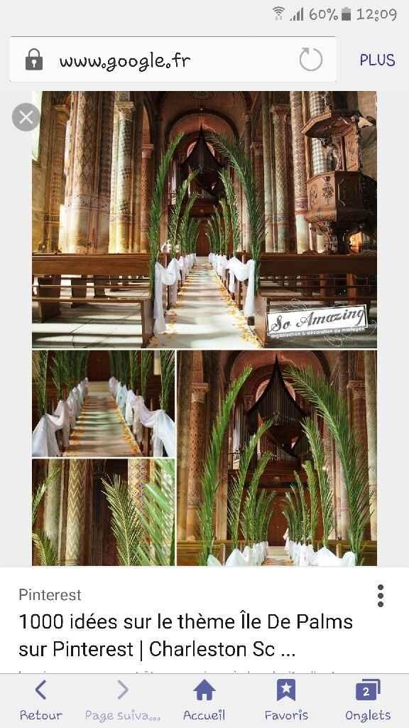 Mariage eglise/decoration - 1