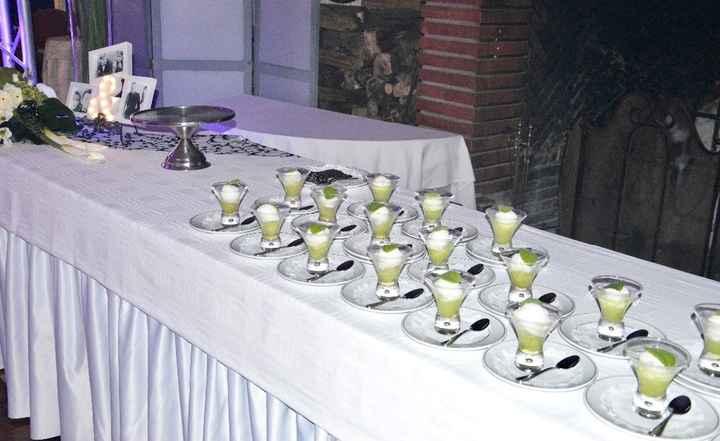 trou normand sorbet citron vert et limoncello