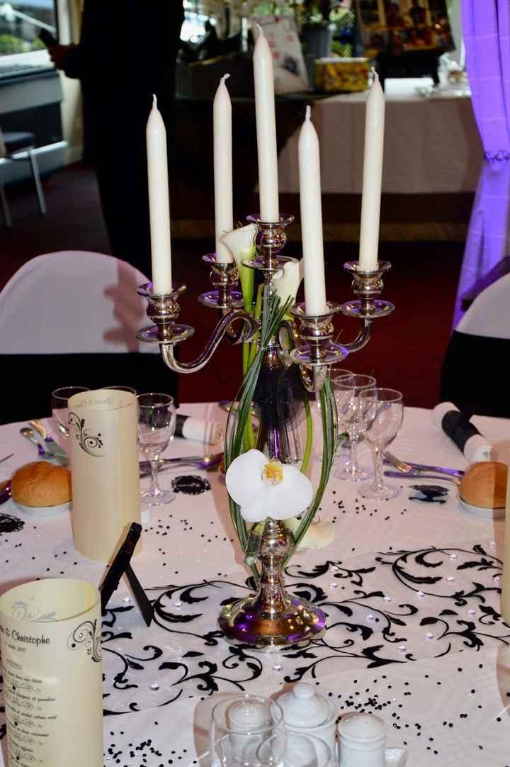 chandelier fleuri