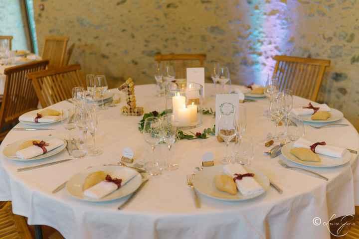 Tables invités