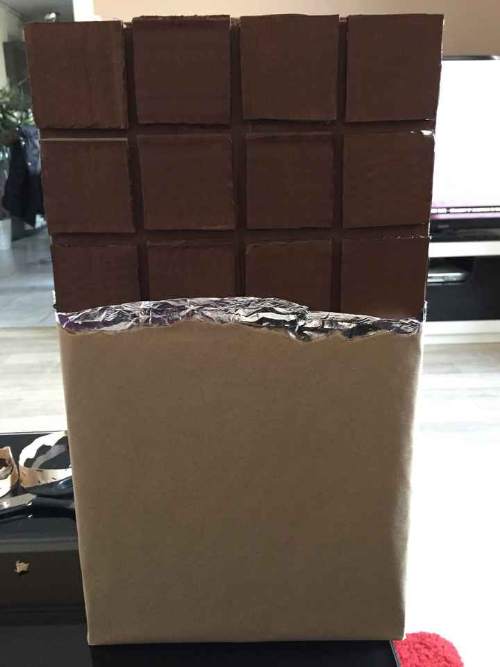 Avancement urne tablette chocolat - 1