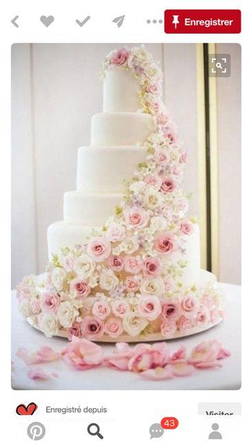 Gâteaux mariage - 2
