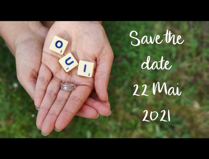 Nous nous marions le 22 Mai 2021 - Eure 1