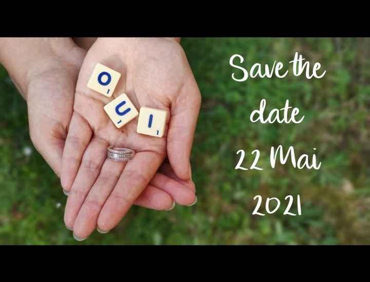 Nous nous marions le 22 Mai 2021 - Eure - 1