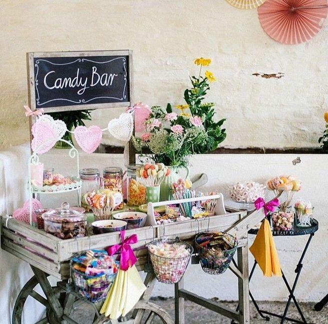 Achats bonbons pour le candy bar - 1