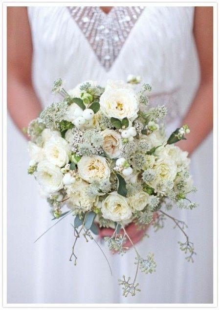 Les fleurs de la mariée
