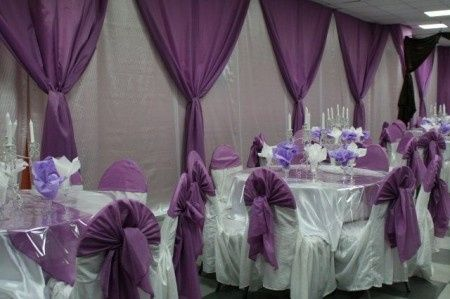 Rideau decoration pour mariage