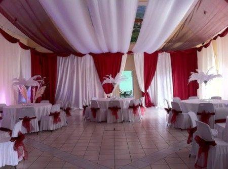 Rideau decoration mariage