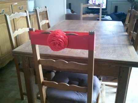 décor de chaises