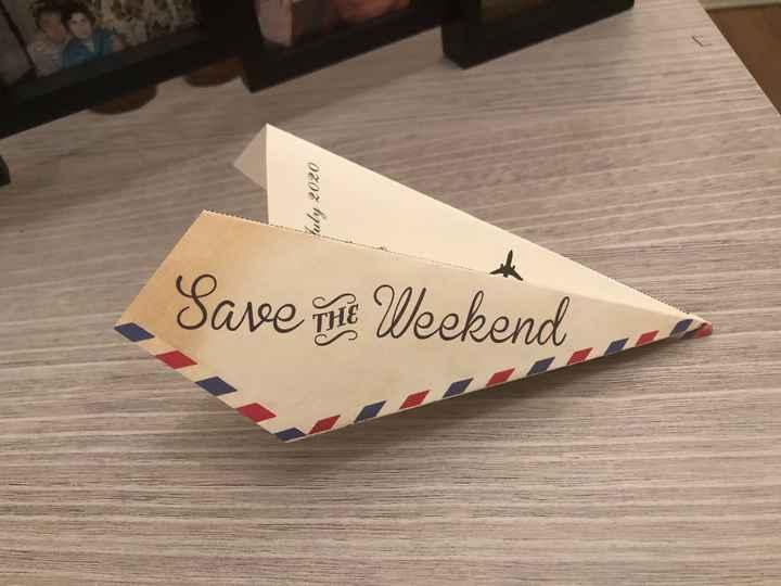 Save the weekend reçu - 1