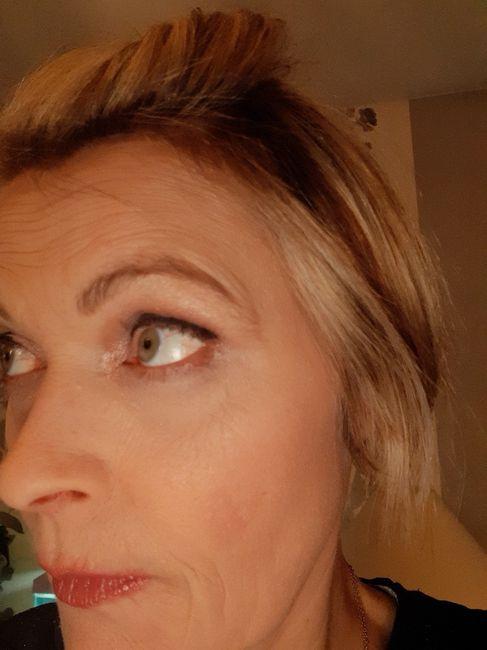 Essai maquillage.. au secours😱😱 4