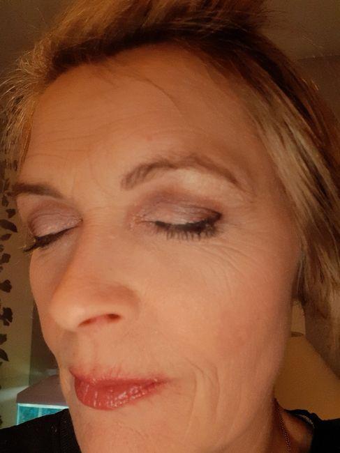 Essai maquillage.. au secours😱😱 1