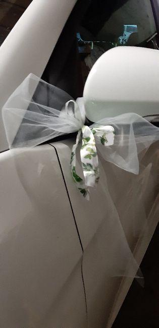 Décoration de la voiture des mariés - 2