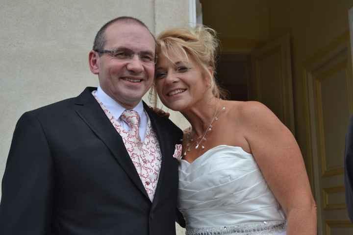 enfin mariés!