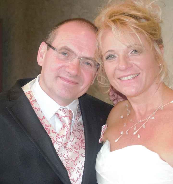51 ans tous les deux le jour de notre mariage