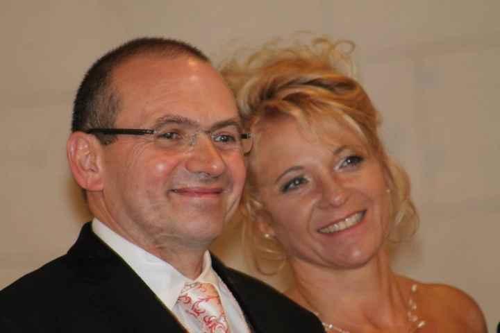 heureux d'etre enfin mariés