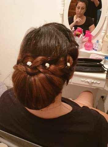 Les différentes coiffures possible avec le voile de mariée 👰 - 2