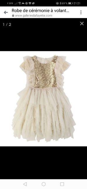 Robe pour ma fille 6