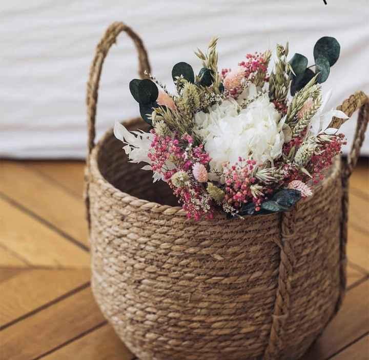 Bouquet de Mariee fleurs sechees? - 1