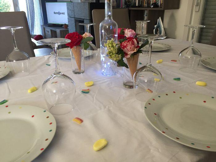Essais décoration tables - 2