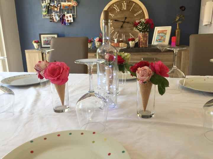 Essais décoration tables - 1