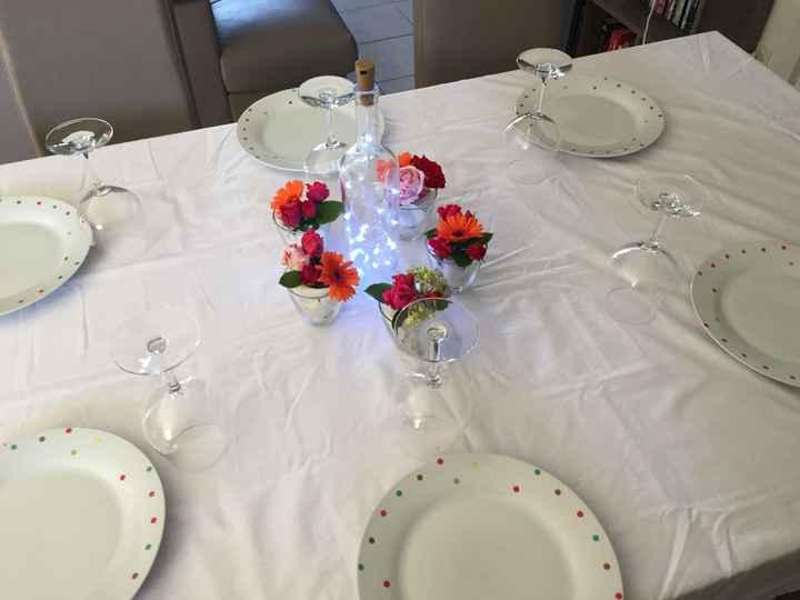 Essais décoration tables - 3