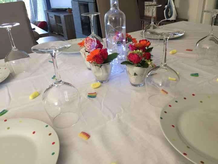 Essais décoration tables - 4