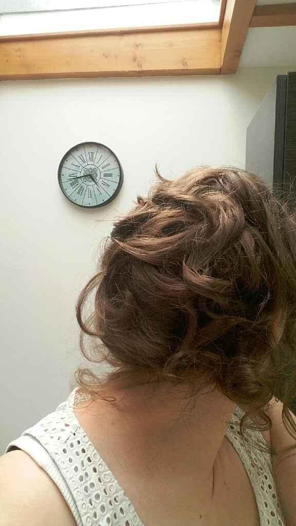 Essai maquillage et coiffure - 4