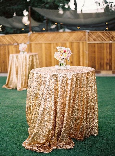 Première inspiration pour un mariage gold and palm tree 1
