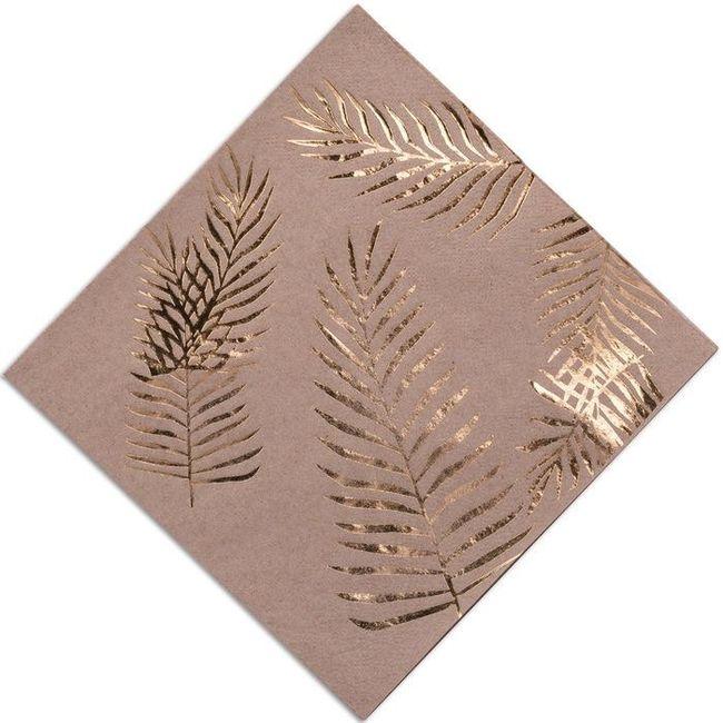 Première inspiration pour un mariage gold and palm tree 12