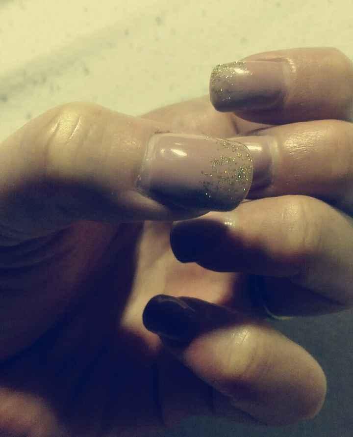 Mes ongles pour samedi! - 1