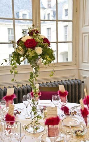 Quel place auront les fleurs d coration forum - Coupe en verre sur pied centre de table ...