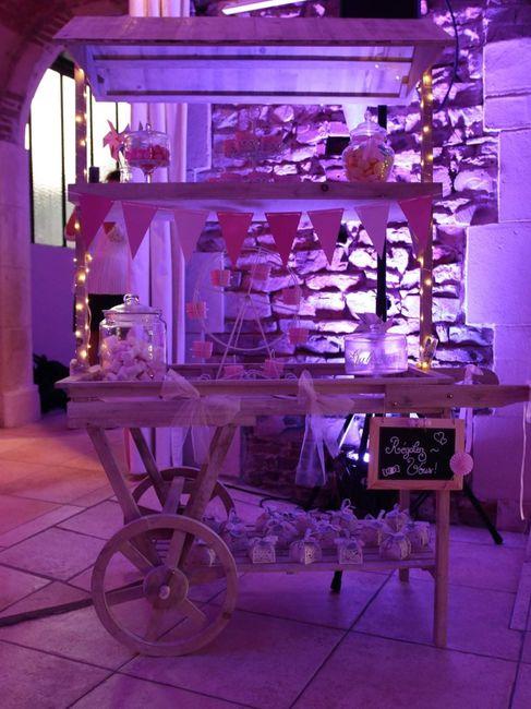 Candy bar/wedding bar 2