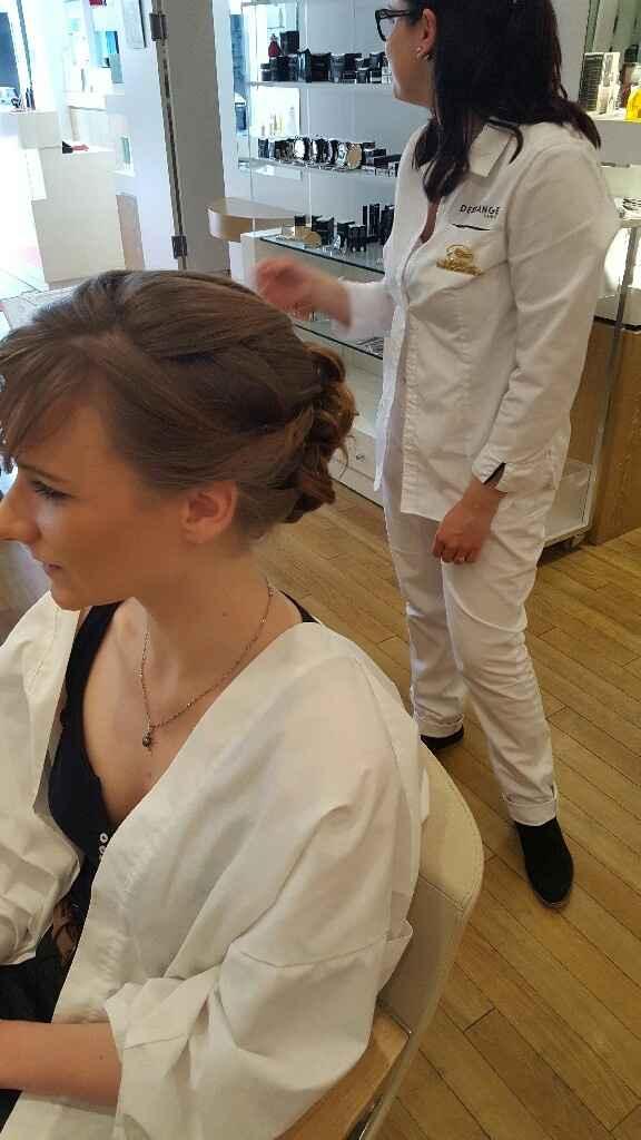 Min essayage robe coiffure - 4