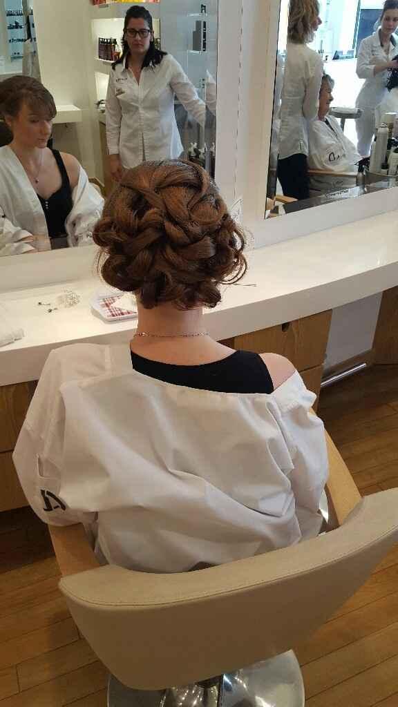 Min essayage robe coiffure - 5