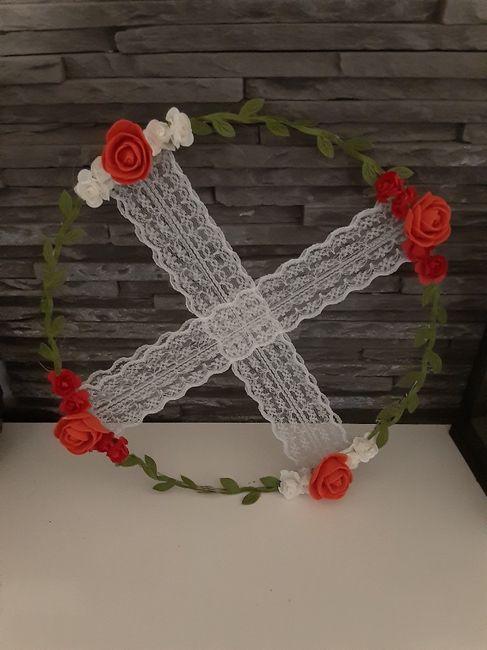 Cercles de fleurs 4